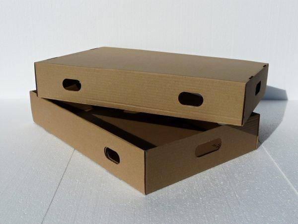 Krabica veľká dvojdielna na zákusky koláče